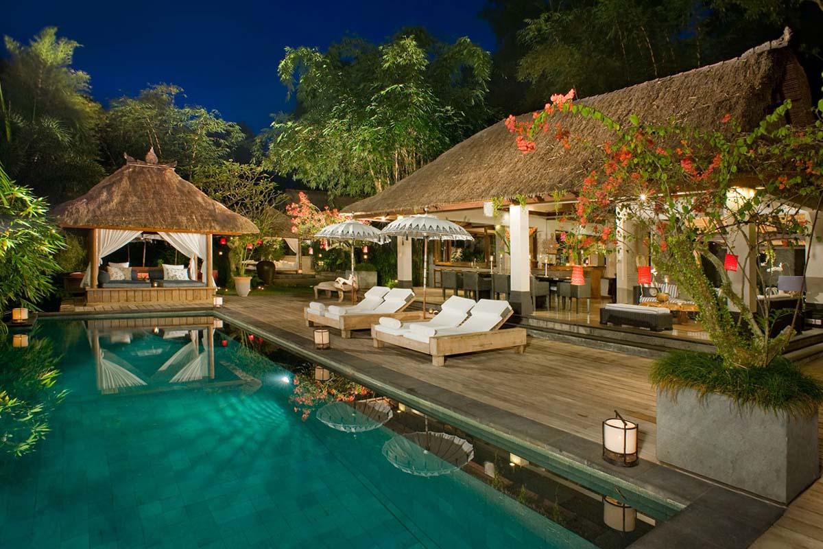 Pool Area Villa Maya Retreat Tabanan Bali Bali Villas