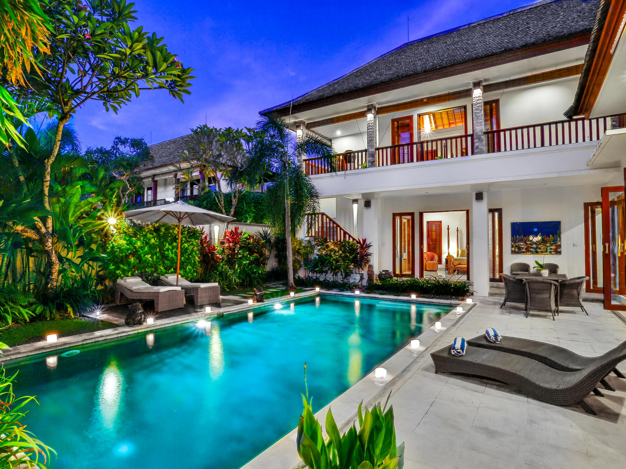 Floor Plans For 5 Bedroom Homes Shanti Villa In Seminyak Bali Indonesia 4 Bedrooms