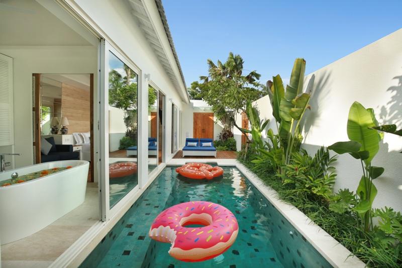 Pool area - Villa Aleva, Seminyak Bali