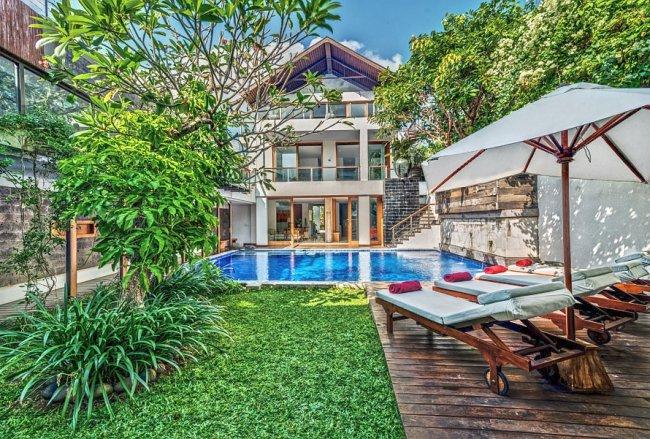 De Jiwa Seminyak Villas - 4 Bedrooms Villa - Kerobokan Luxury Villa