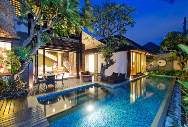 Canthy Villas Seminyak - 2 Bedrooms Villa - Bali Villa Rentals in Seminyak