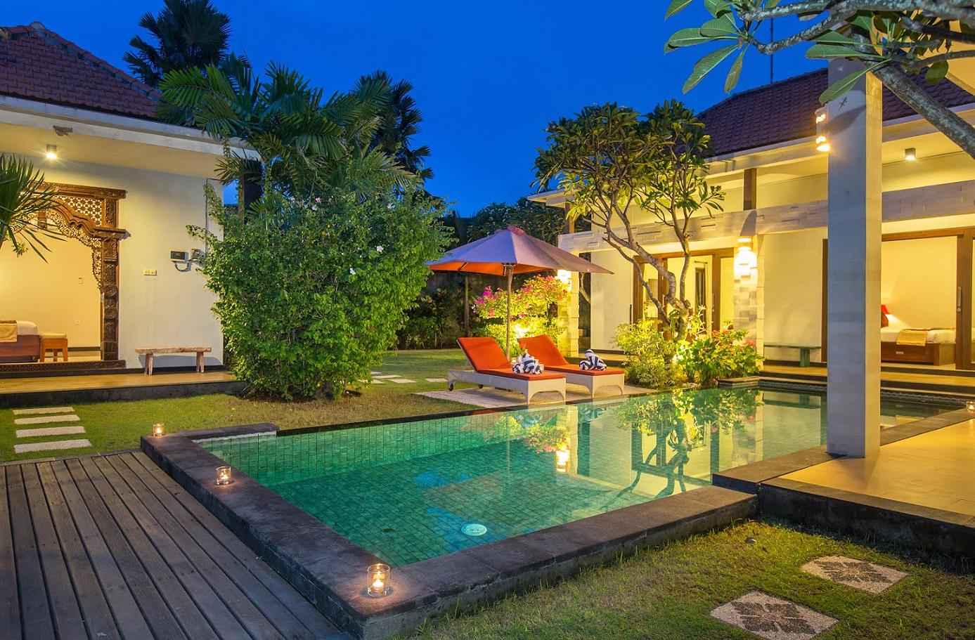 Bali villa amabel 3 bedrooms seminyak 1 bali villas for Seminyak villas 1 bedroom