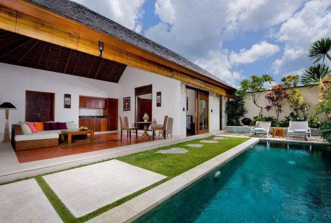 Saba Villas Arjuna - 1 Bedroom Villa - Bali Villa Rentals in Canggu