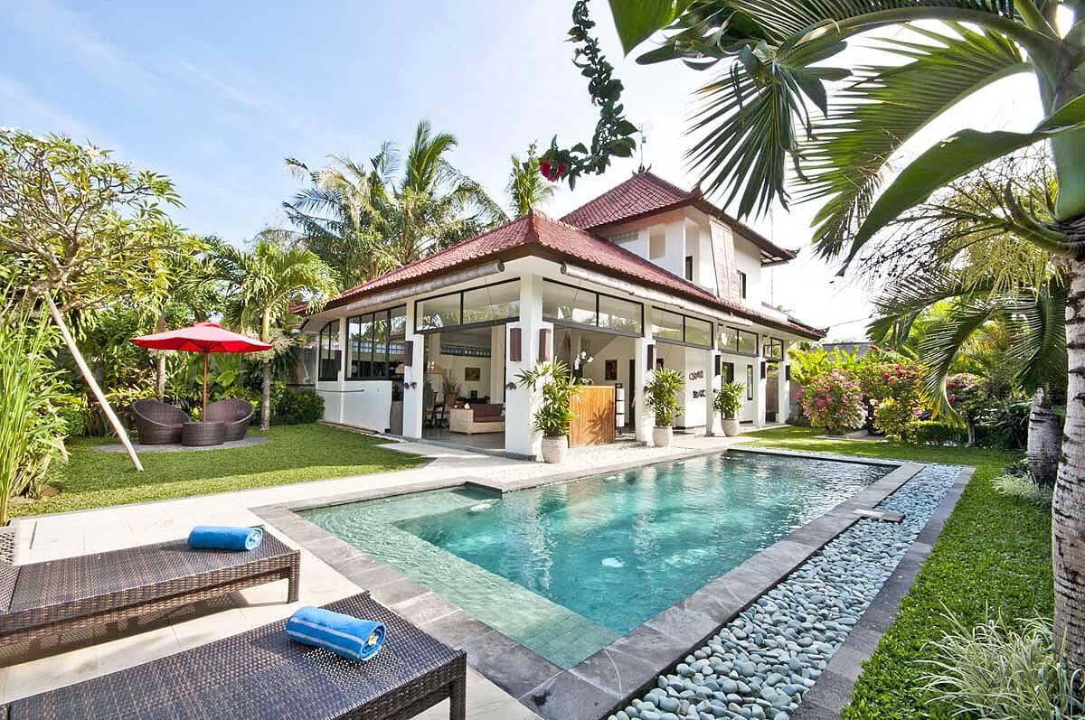 Villa Surga In Seminyak Bali Indonesia 2 Bedrooms