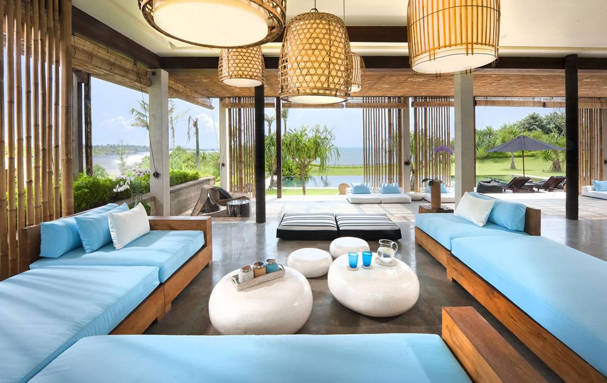 Living Room - Villa Tantangan, Tabanan Bali