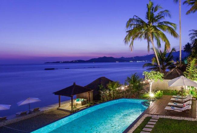 Tirta Nila Beach House - 4 Bedrooms Villa - Candidasa Luxury Villa