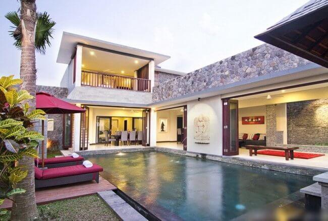 Blue Budha Villa - 2 Bedrooms Villa - Bali Villa Rentals in Canggu