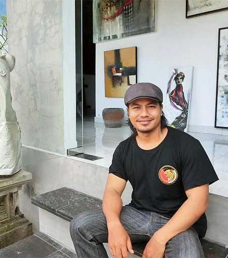 Painting Exhibition by Nyoman Bratayasa at Maya Sanur Resort