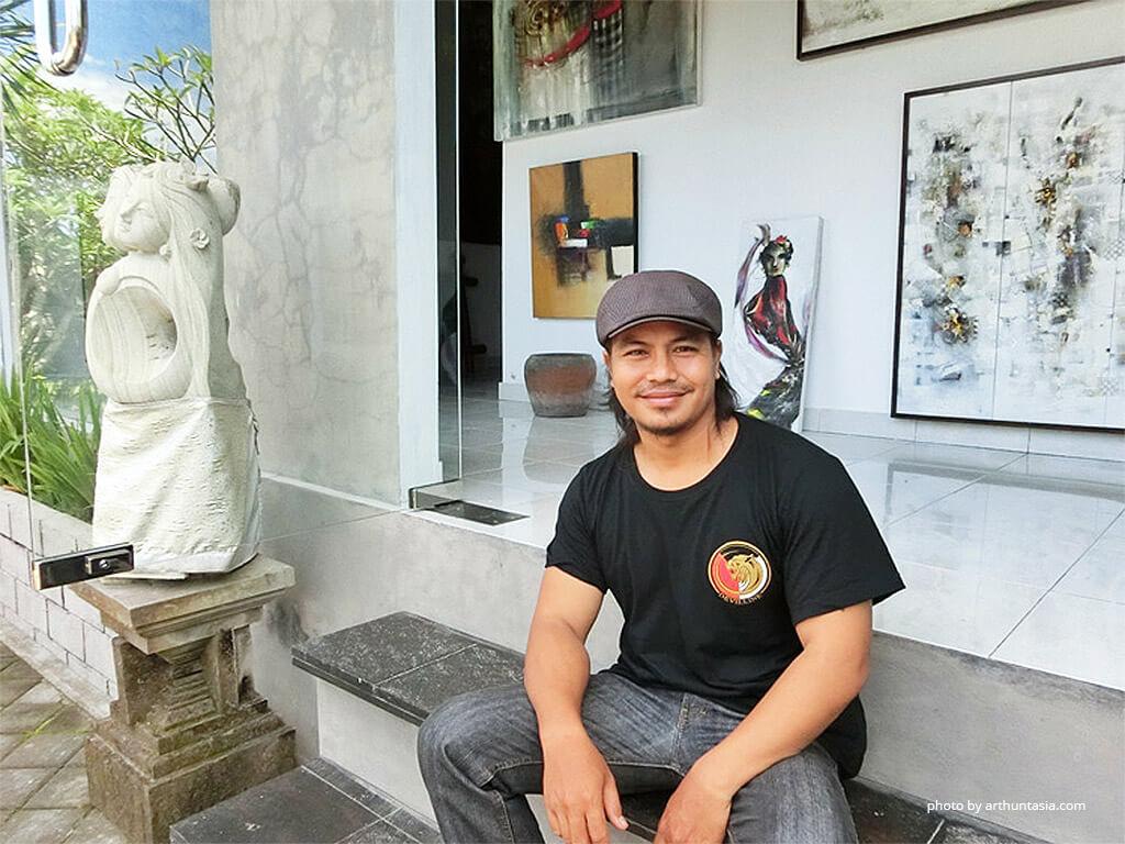 Painting Exhibition by Nyoman Bratayasa at Maya Sanur Resort